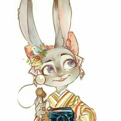 兔子狐狸情侣头像图片疯狂动物城狐狸和兔子情侣头像
