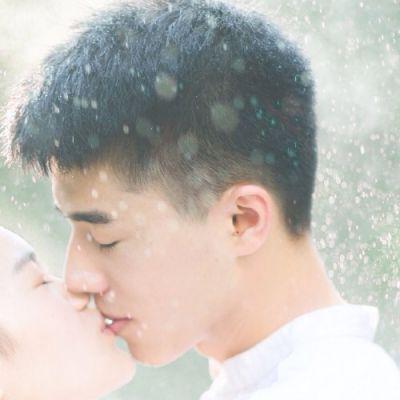情侣头像接吻一对两张,高清浪漫的情侣头像双人两张接吻