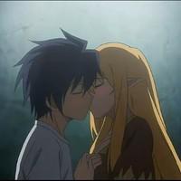 qq接吻头像,高清好看浪漫的情侣接吻头像动漫图片