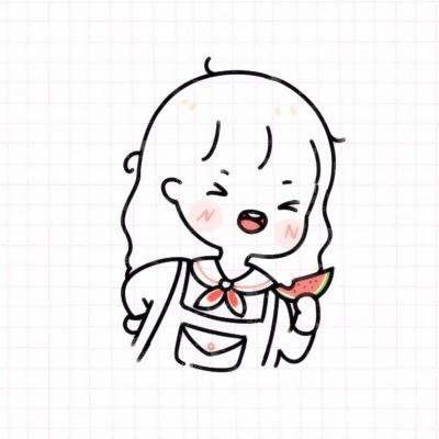 可爱简笔画情侣头像高清好看的可爱简笔画情侣头像一男一女