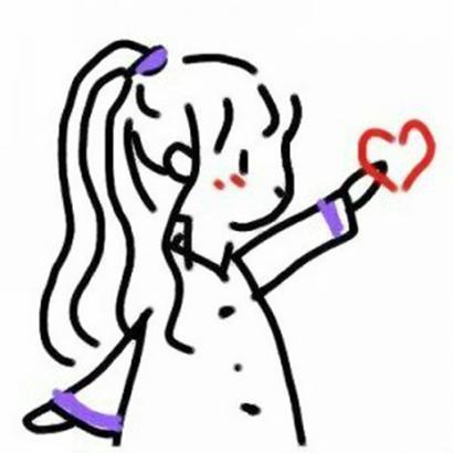 创意简笔画情侣头像图片高清创意的情侣简笔画可爱头像一男一女