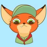 朱迪情侣头像一左一右疯狂动物城的兔子狐狸cp情侣头像图片