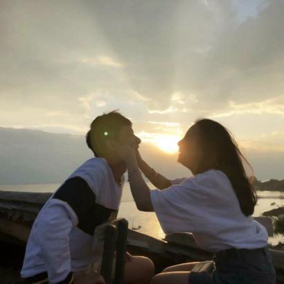 甜蜜可爱情侣双人头像爱情甜蜜又可爱