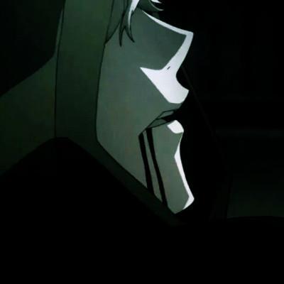病态暗黑系列情头高清恐怖的高冷暗黑系动漫情头图片
