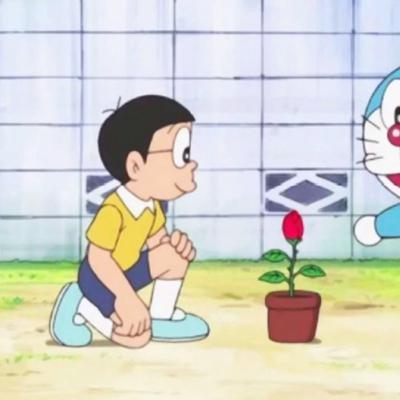 哆啦a梦系列情侣头像,高清可爱的哆啦a情侣头像一对两张图片