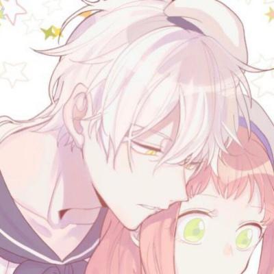 动漫情头浪漫高清一对两张的动漫情侣头像浪漫甜蜜图片