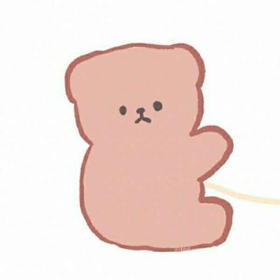 动漫可爱情头小熊,另一对是可爱小熊小兔子情头图片