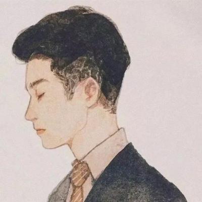 背对背伤感情侣头像一男一女图片