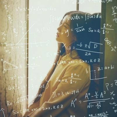 qq头像女生公式好看的最新数学公式女生头像图片