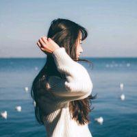 长发女生头像小清新长发飘飘仙气十足的女生