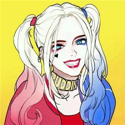 小丑女头像高清精选高清小丑女哈莉图片头像