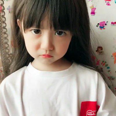 萌娃女孩图片头像高清搞怪的可爱女萌娃头像图片