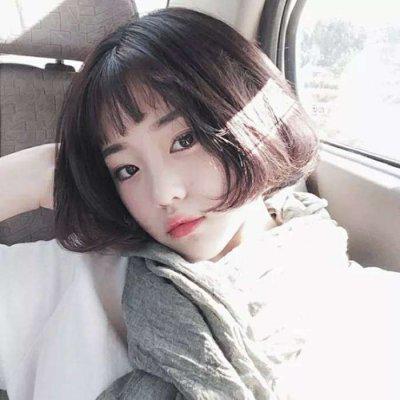 qq头像短发女生时尚潮流高清好看的短发时尚潮流女生QQ头像