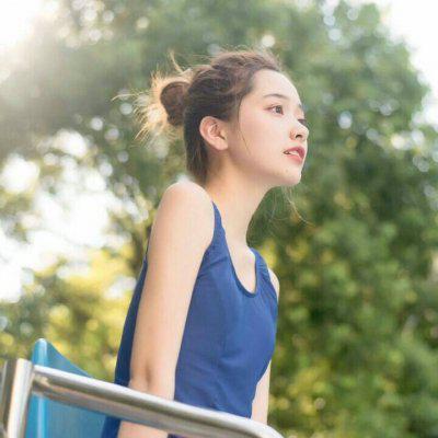 女生头像浅绿色高清好看的偏绿森系女生头像图片