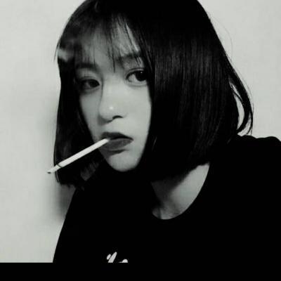 女生头像抽烟女王范高清女王范抽烟女生头像图片