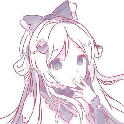 高清好看的漫画图片女生可爱手绘头像