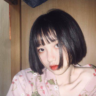 短发女孩头像,好看的高清短发女孩头像图片精选