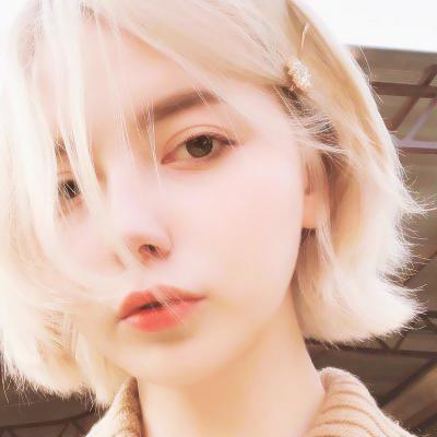 短发高冷女生头像高清好看的女生头像短发气质高冷图片