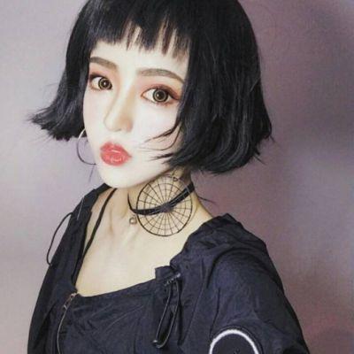 女生头像霸气短发发型高清好看的短发发型图片女生头像