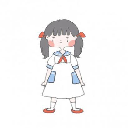 qq头像手绘女生简单高清好看的手绘头像女生可爱简单型图片