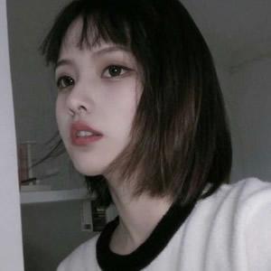 女生短发qq头像高清好看的女生帅气短发图片头像