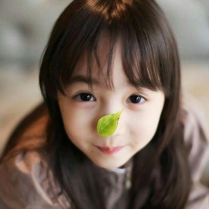 超萌可爱小女孩子头像图片