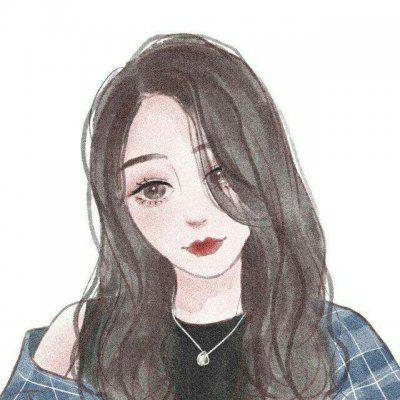 文艺女生头像手绘高清好看文艺范的手绘女生头像图片
