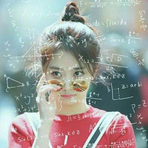 qq头像带数学公式女生高清好看的数学公式女生唯美头像图片