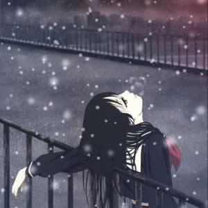 女生伤感孤独头像动漫高清好看的动漫头像伤感孤独女生图片