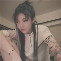 花臂社会女头像高清超酷的花臂纹身女生头像图片