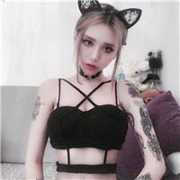 花臂女神头像霸气社会的女生头像纹身霸气冷酷图片