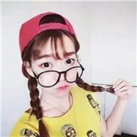 女生头像戴眼镜呆萌图片大全可爱的头像女可爱萌戴眼镜