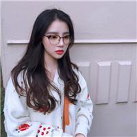 qq头像女生可爱戴眼镜漂亮可爱的女生头像眼镜女生图片