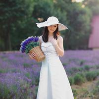 戴帽子女生唯美头像少女感十足的戴帽子女生