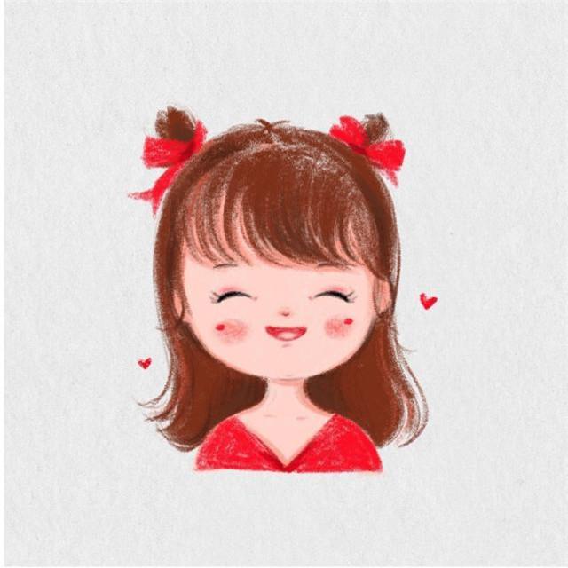 手绘小女孩头像超萌图片高清超萌的手绘可爱头像女生头像
