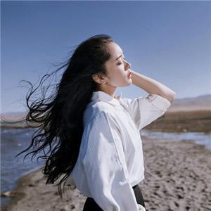微信长发美女真人头像,唯美有意境的长发美女