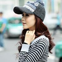 时尚好看戴帽子的女生qq头像图片