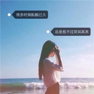 带文字的女生头像高清清新的带文字唯美女生头像图片