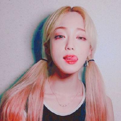 韩系女生头像霸气高清个性十足的韩系女生头像长发霸气图片