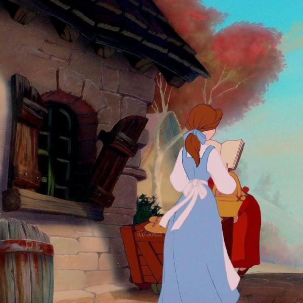 迪士尼公主头像唯美背影高清好看的迪士尼公主背影图片头像