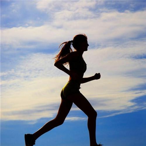 健身微信头像女高清唯美励志的美女健身图片头像图片