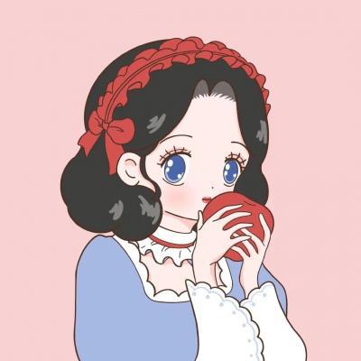 迪士尼公主头像可爱清新高清好看的可爱卡通头像迪士尼公主图片