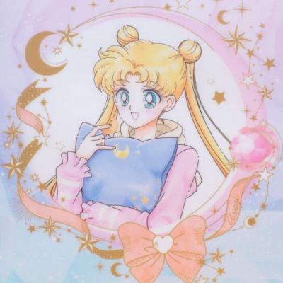 微信头像女卡通美少女战士,唯美梦幻少女心ins美少女战士头像图片