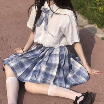 qq头像女生下半身裙子jk高清好看的jk部位裙子女头像图片