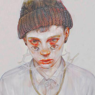 男生病娇动漫头像有点恐怖的二次元病娇男头像图片