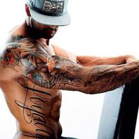 qq头像欧美男生纹身霸气好看的欧美男生纹身qq头像图片精选