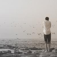 伤感头像男生背影图片有意境孤独伤感的男生背影图片头像