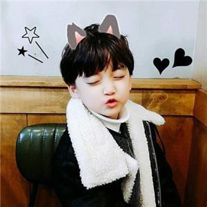 小男孩可爱头像高清帅气的可爱到爆小男孩头像图片