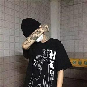 qq头像男生纹身霸气高清霸气的纹身头像男社会人图片