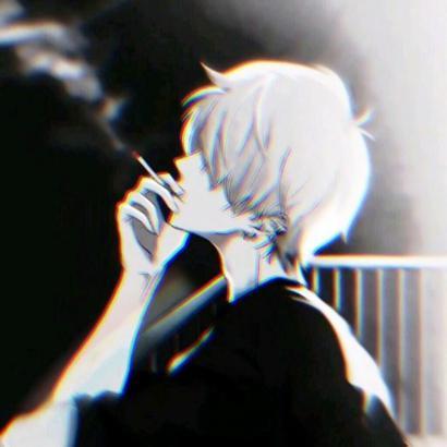 qq伤感动漫头像高清丧系的qq头像男生伤感动漫图片
